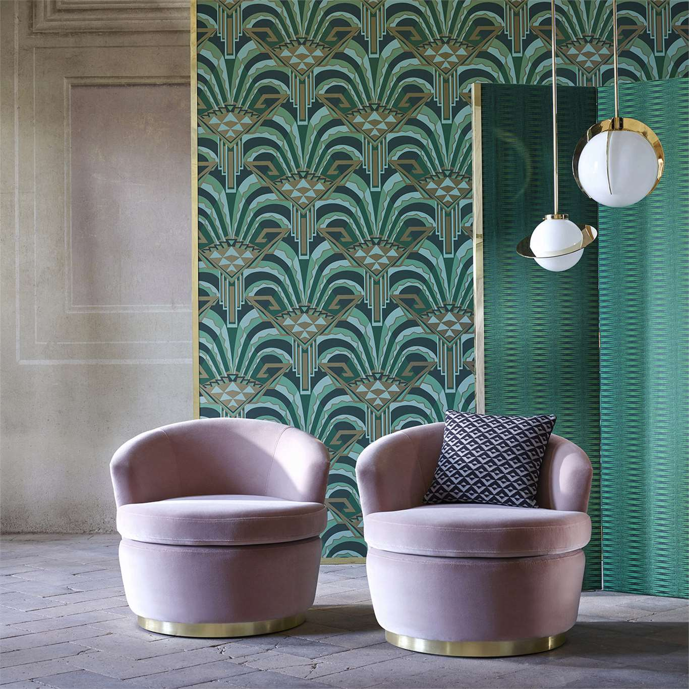 Обои Conway The Muse Wallcoverings Zoffany