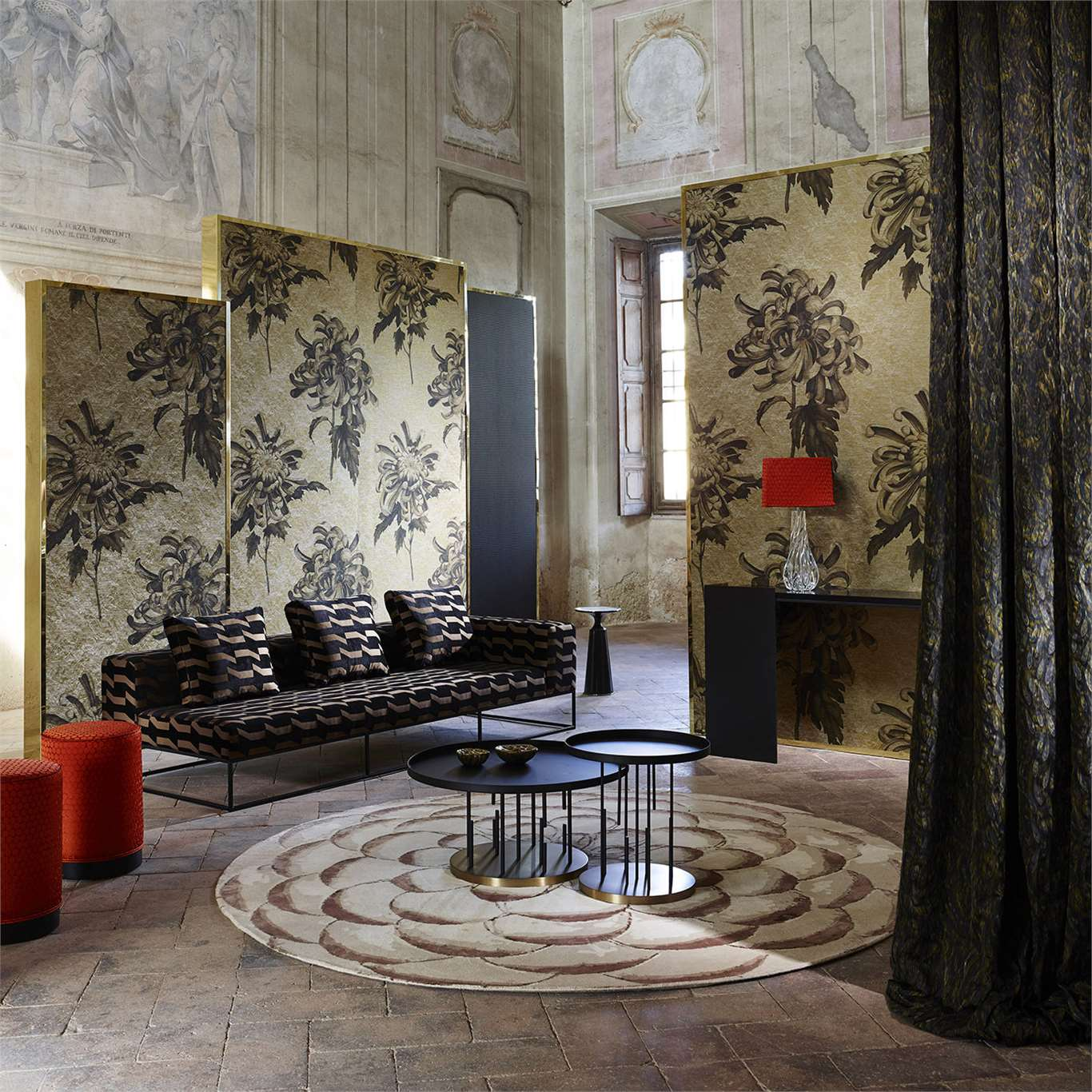 Обои Evelyn The Muse Wallcoverings Zoffany
