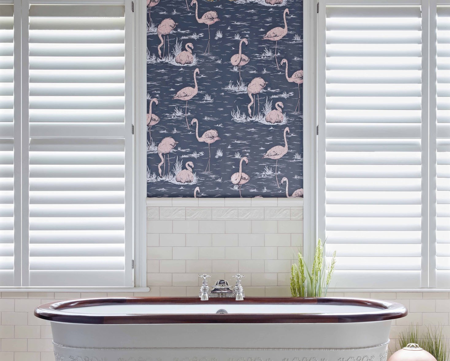 Flamingos Fan Icons Cole & Son
